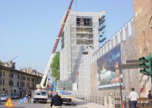 Edificio storico - manutenzione torre e cinta muraria - CSP e CSE- Verona - foto 1
