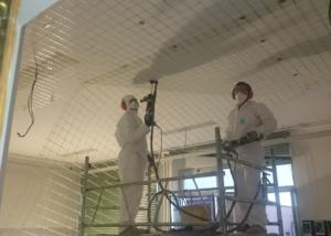 Istituto scolastico - interventi di messa in sicurezza dei solai - Legnago (VR) - foto 1