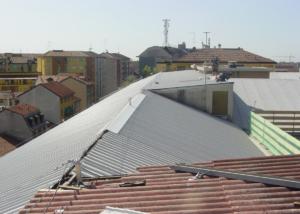 Produttivo - bonifica copertura in amianto- CSP e CSE- Milano - foto2