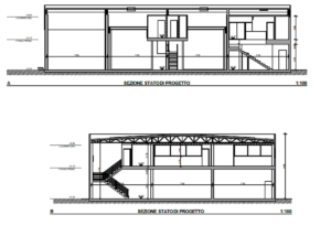 Produttivo - progetto strutturale capannone industriale in acciaio - Castelmassa (RO) - foto 1